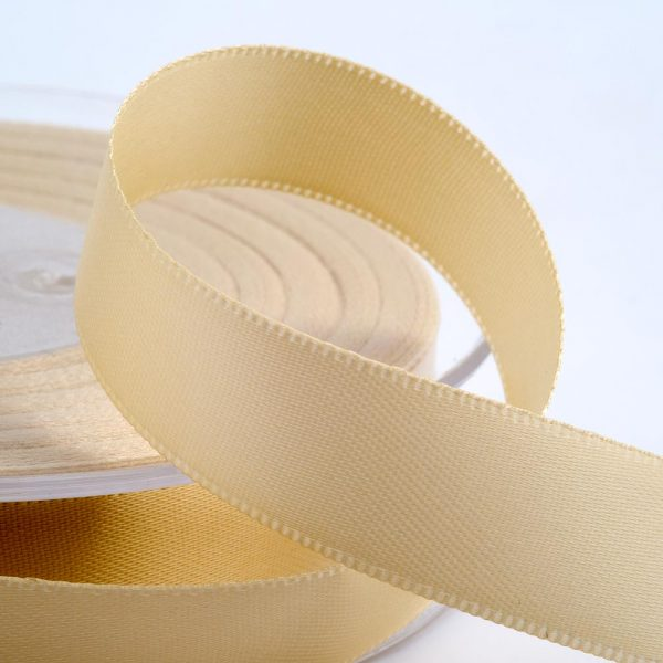 Everyday Satin Ribbon - Cream