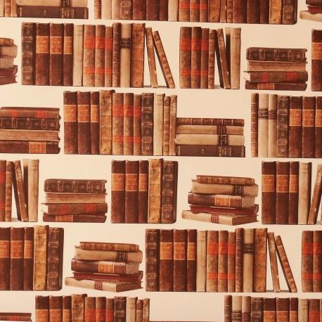 papier-tassotti-motifs-livre-marron